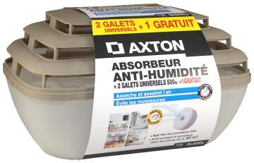 AXTON DEHUMID 3 TABS 500GR + 1 FREE