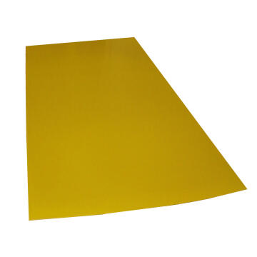 Synthetic Glass Polypropylene Hollow Core Yellow 3mm thick-2000x1000mm