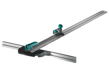 1 PLASTERBOARD CUTTER WITH RAIL
