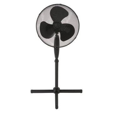 Pedestal fan EQUATION 40cm 45w black