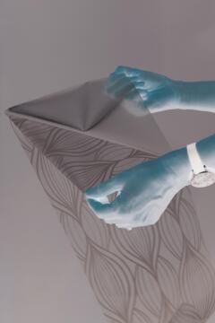 Glass Film Static CHARIS-w45cmxh1.5m