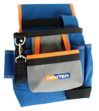 7 POCKET TOOL POUCH WITH BELT DEXTER