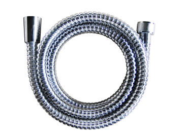 Shower hose stainless steel double interlock extensible SENSEA 1.5-2.0m