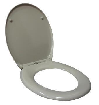 Toilet seat Duroplast with quick release moon Sensea Easy grey