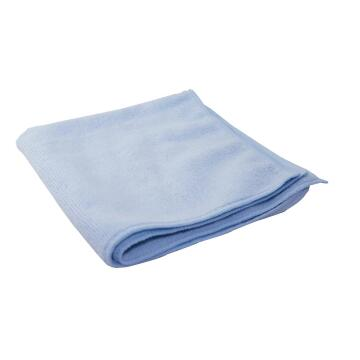 MICROFIBER CLOTH 40X40CM,BLUE