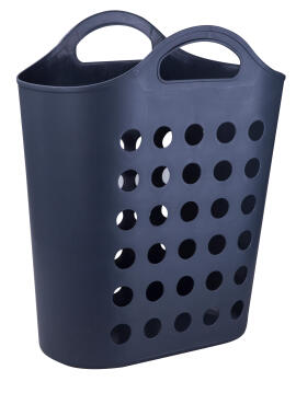 Laundry basket grey 50L