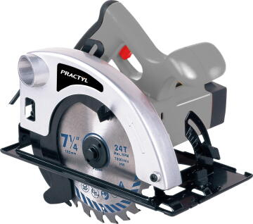 Circular saw PRACTYL 1200W 185mm