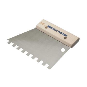 Knife for glue w/sq teeth DEXTER 18cm