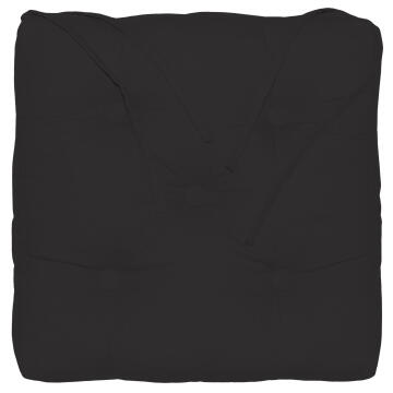 CHAIR PAD ELEMA BLACK 0 40X40CM