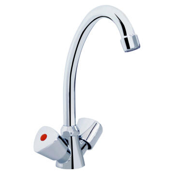 TAP KITCHEN NEREA DBL HANDLE ACS 1/2B
