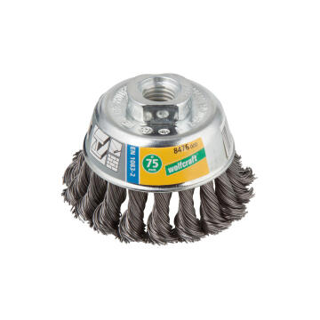 1 WIRE CUP BRUSH TWISTED, THREAD M 14