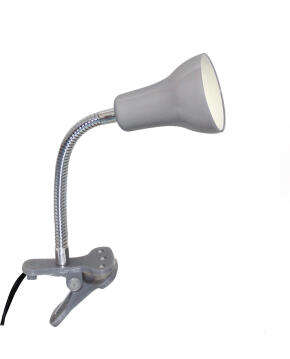 CLIP LAMP GU10 LED 3W PLASTIC METAL GREY