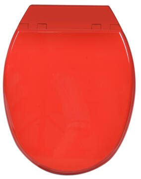 Toilet seat mdf with soft close Sensea Bolero red