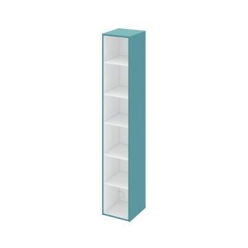 Column cabinet SENSEA Remix laguna green 180x33x30cm