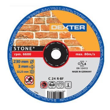 DISC STONE DEXTER 230-3MM