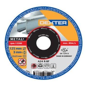 DISC MTLS DEXTER 125-3MM