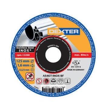 DISC MTLS SS DEXTER 125-1.6MM