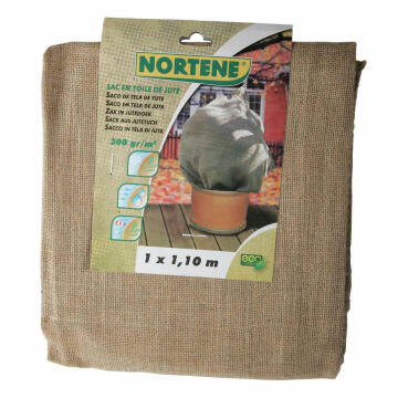 Cover Hessian Nortene 1Mx1.10M Natural Biodegradable
