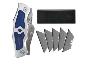 POCKET KNIFE 2-WAY FOLDABLE DEXTER 110MM 5PCS