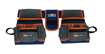 TOOL POUCH 20 POCKETS WITH BELT DEXTER