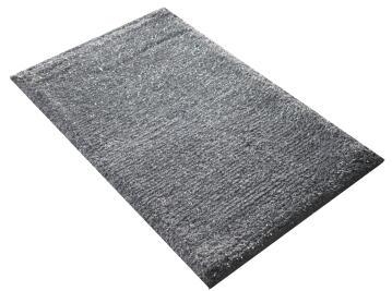 Bath mat cotton SENSEA Jet Set light grey 50x80cm