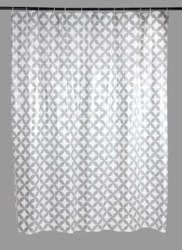 Shower Curtain SENSEA Corolle grey 180X200CM