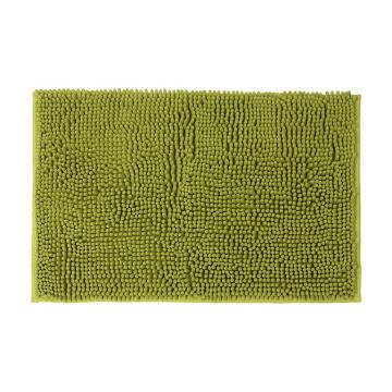 Bath mat woven cotton SENSEA Kate green 40X60CM