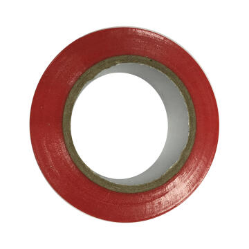 Insolation tape 0.15x15mm red 10m