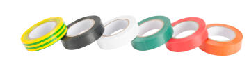 Insolation tape set of 6 0.15x15mm 10m