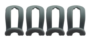 SPACEO ACCESS HOLDER PLASTIC 4PCS,GREY