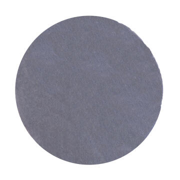 RUG POLY TUFTED CIRCLE GREY 100X100CM
