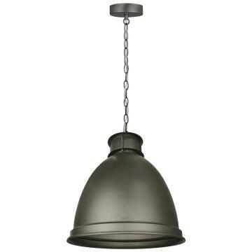 PENDANT LAMP E27 1X60W D35CM IRON MATT G