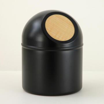 Push bin plastic SENSEA Scandi black