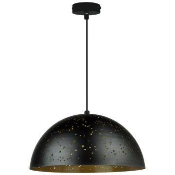 PENDANT LAMP E27 1X60W D30CM IRON MATT B