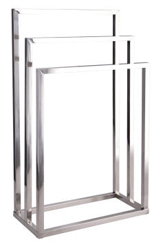 Towel rack Stainless Steel SENSEA Urban silver