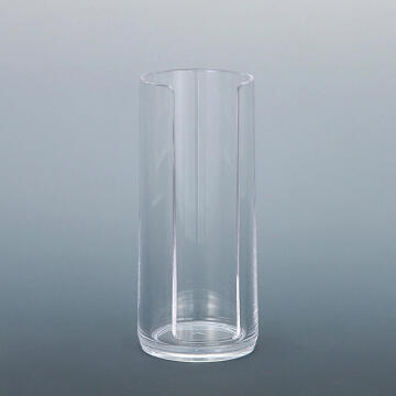Cotton box round acrylic SENSEA transparent