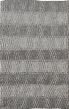 KELIM WOOL GREY/WHITE 120X170 CM