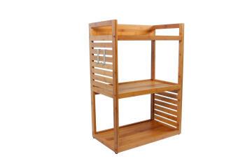 Bathroom cabinet base SENSEA natural bamboo 60x85x35cm