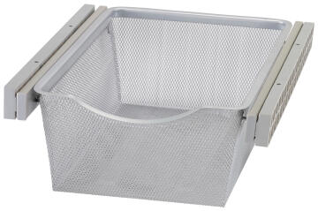 SLIDING MESH BASKET W/RAILS 36.8*43*15CM