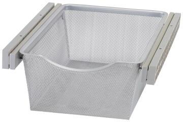 Sliding mesh metal basket H15 x W36.8 x D43cm
