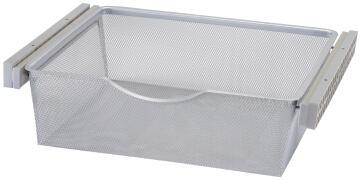 Sliding mesh metal basket H15 x W56.8 x D43cm