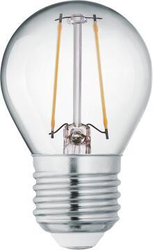 LED BULB FILAMENT P45 E27 2W 15000H 4000