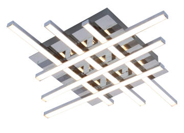 CEILING LAMP SMD LED 6X5W 1665LM METAL+A
