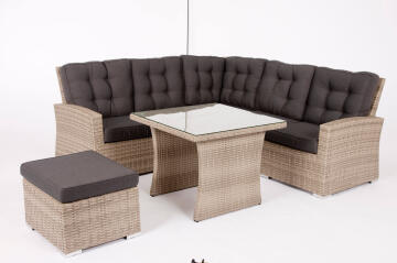 Corner Set Wicker Naterial Daveport
