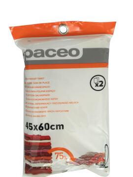 2pc Hand compressing vacuum bag 45 x 60cm