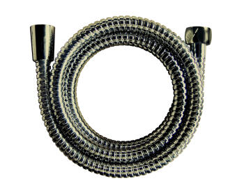 Shower hose stainless steel double interlock plated old brass no acs SENSEA 1.75m