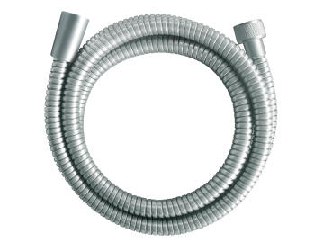 Shower hose stainless steel double interlock satin SENSEA 1.75m