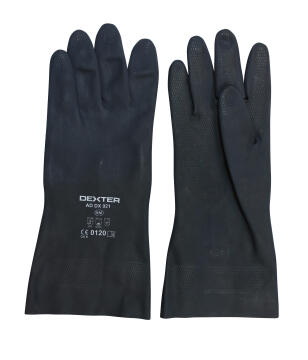 DEXTER UNSUPPORTED NEOPRENE GLOVE. SIZE8
