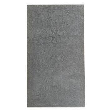 SHAGGY RUG MICRO-FIB POLY GREY 160X230CM
