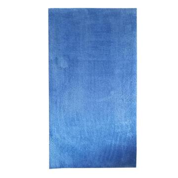 SHAGGY RUG MICRO-FIB POLY BLUE 60X120CM